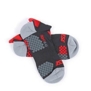 DAINESE Skarpetki Stopki Unisex D-Core Black/Red