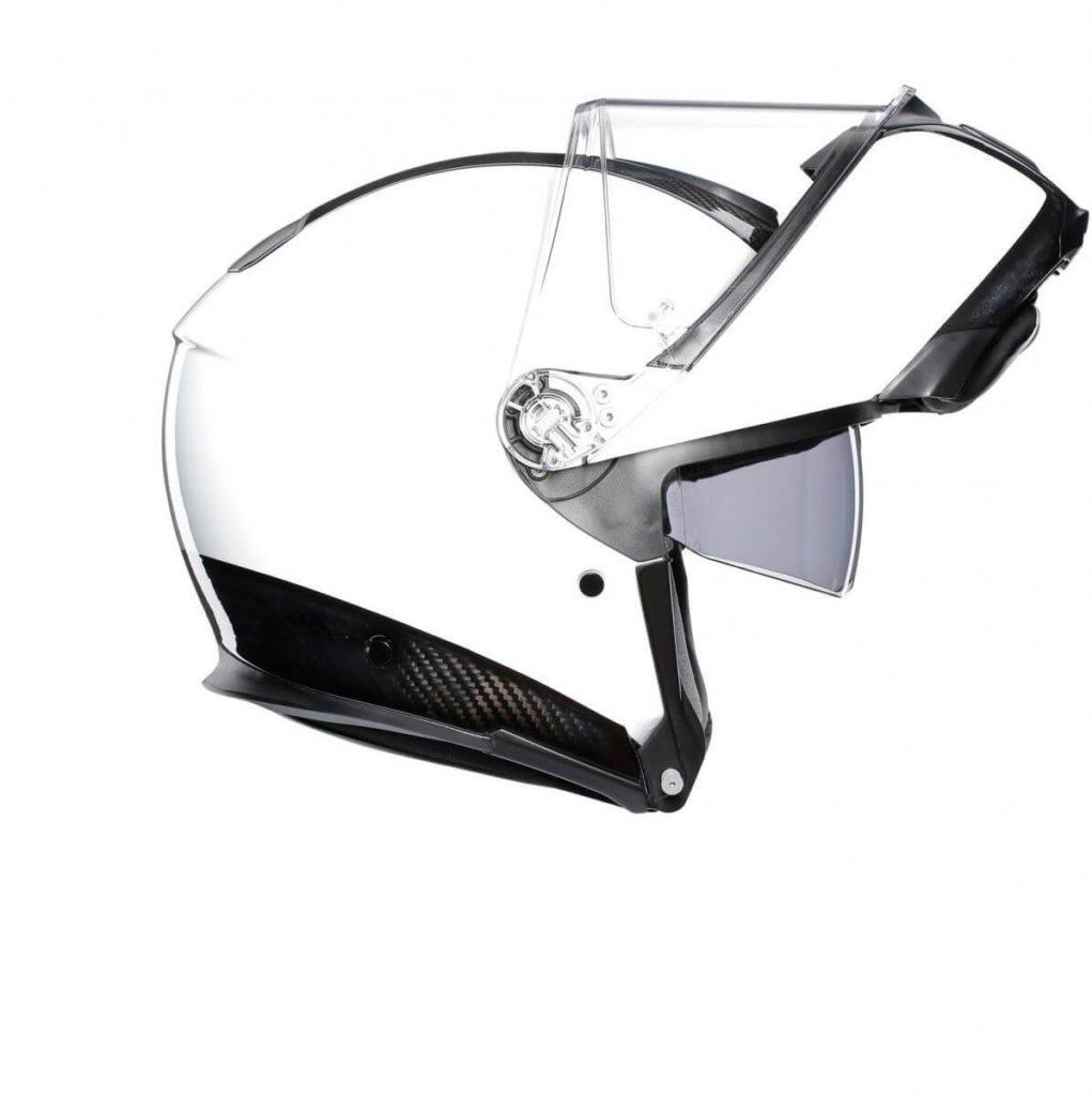 AGV Sportmodular PLK Carbon White Kask Szczękowy