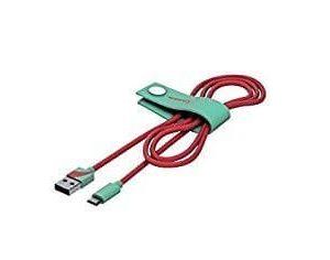 VESPA Kabel Do Ładowania Micro USB 120 CM Aquamarina