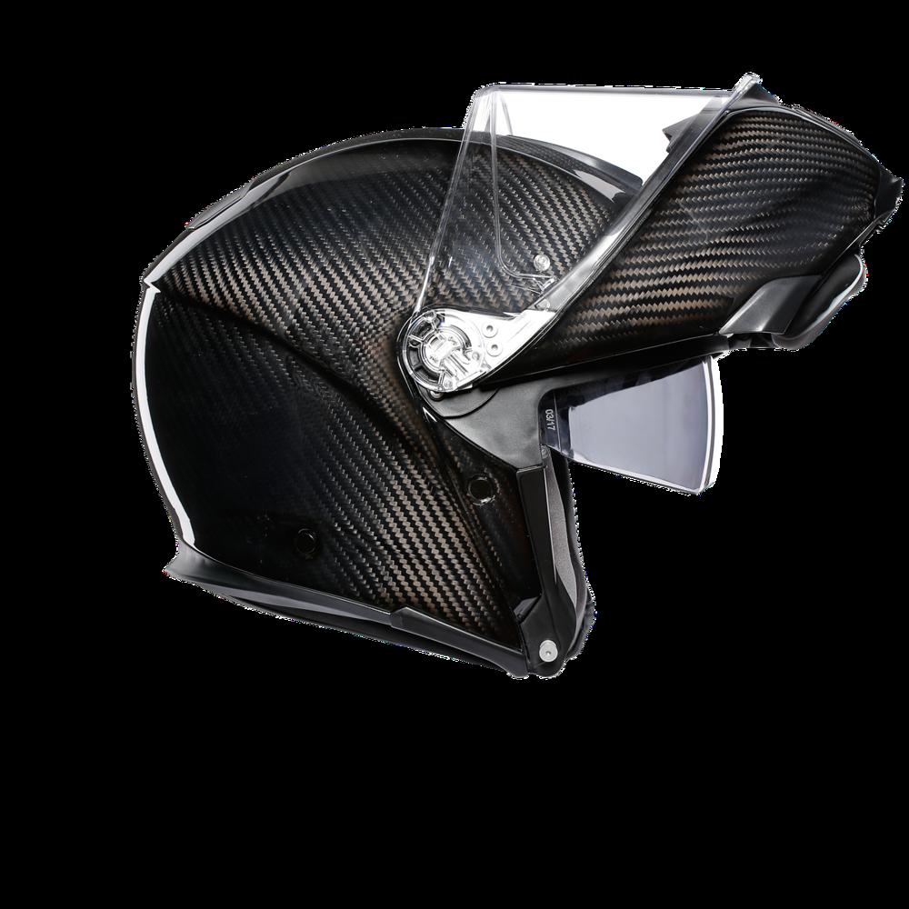 AGV Sportmodular Glossy Carbon Kask Szczękowy