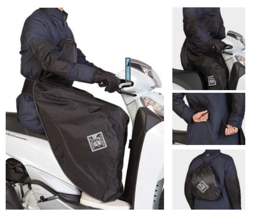 TUCANO URBANO Motokoc R154 Uniwersalny Czarny