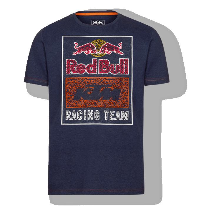 RED BULL KTM Mosaic Graphic T-Shirt Koszulka Męska Granatowa