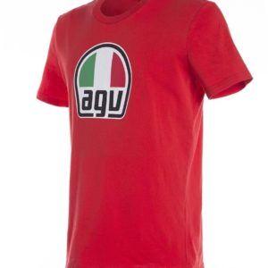 AGV T-Shirt Czerwony Męski