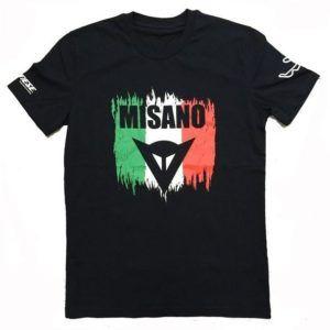 DAINESE T-Shirt Męski Misano Black