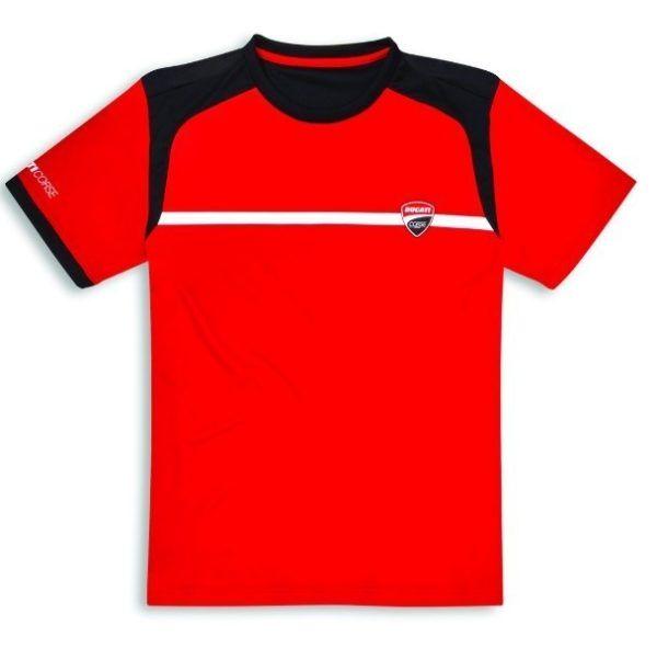 DUCATI Koszulka T-Shirt Corse Power Red