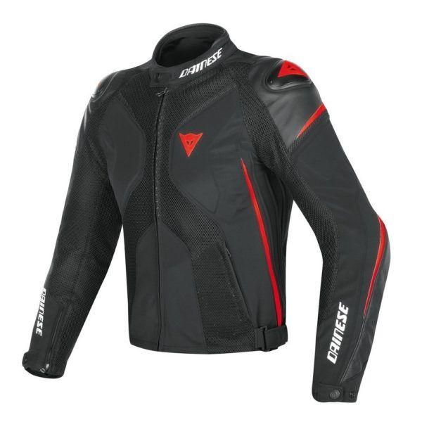 DAINESE Kurtka Tekstylna Męska Super Rider D-Dry Black/Red