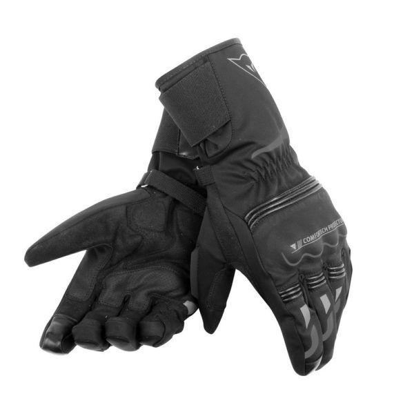 DAINESE Rękawice Motocyklowe Unisex Długie Tempest D-Dry Black