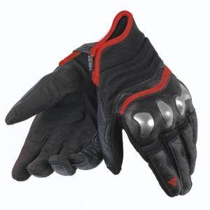 DAINESE Rękawice Motocyklowe Męskie Krótkie X-Run Black/Red