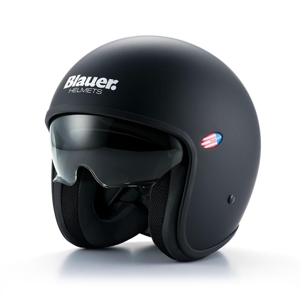 Kask motocyklowy Kask Blauer Pilot black Opinie i ceny