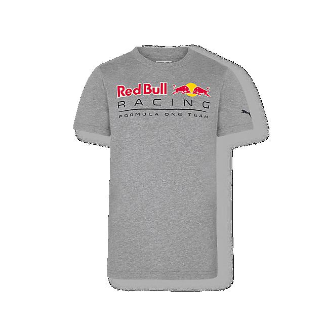 RED BULL Racing T-Shirt Logo Szary