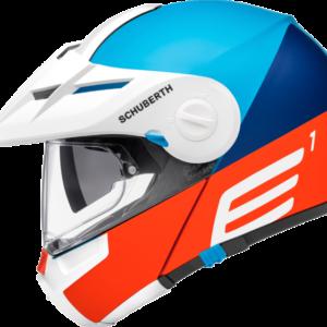 SCHUBERTH Kask Enduro E1 ECE Cut Blue