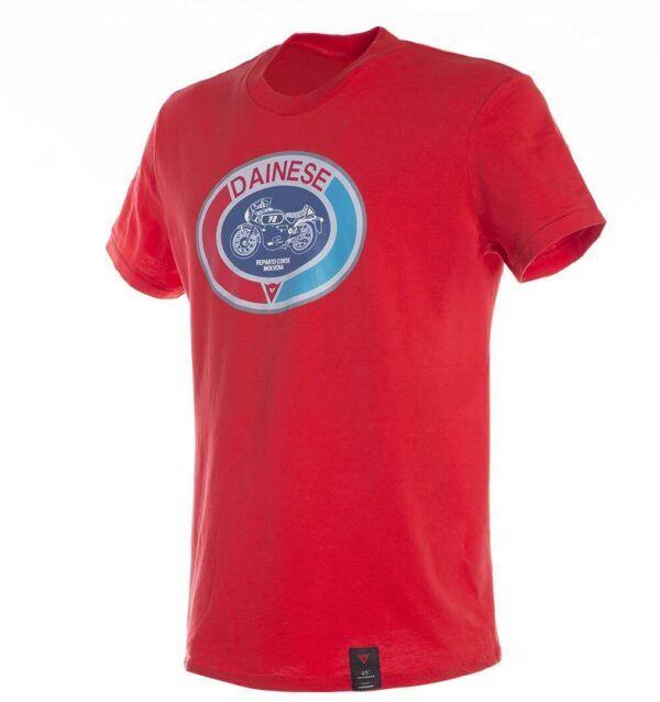 DAINESE T-Shirt Męski Moto 72 Red
