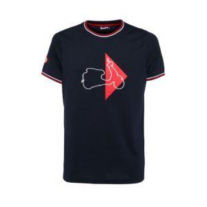 VESPA T-Shirt Męski Modernist Granatowy