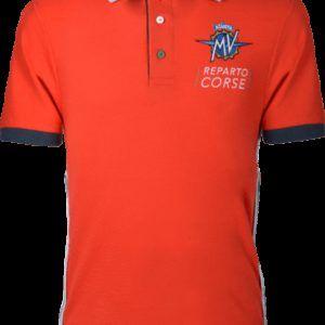 MV AGUSTA Polo Shirt MV19 Red/Black Koszulka Polo