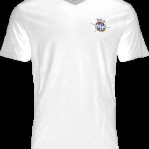 MV AGUSTA T-Shirt Round Neck White Koszulka Męska