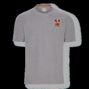 RED BULL KTM Perforated T-Shirt Grey Koszulka Męska Szara