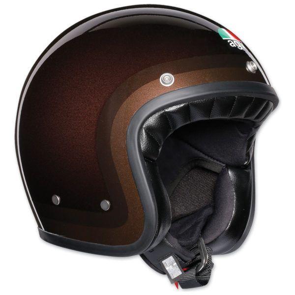 AGV Kask Otwarty X70 Trofeo Chocolate