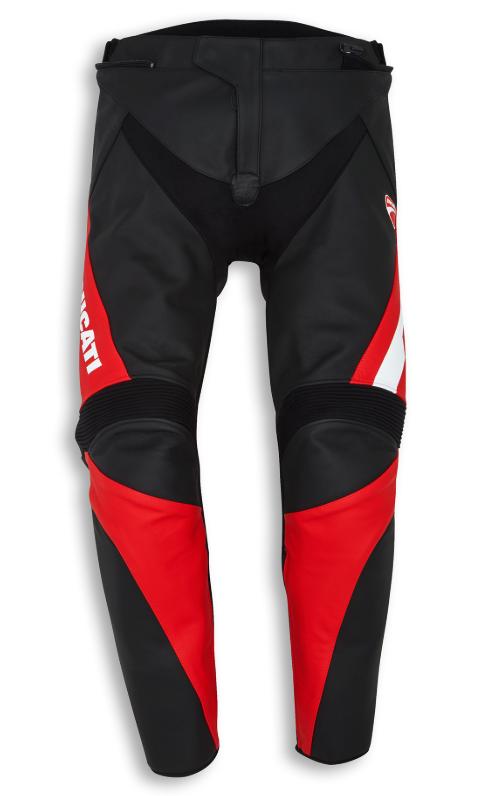 DUCATI Spodnie Speed Evo C1 Red/Whi/Bl