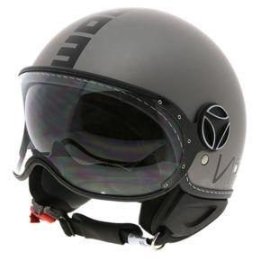 MOMO DESIGN Kask Fighter Evo Titanium Frost/Black