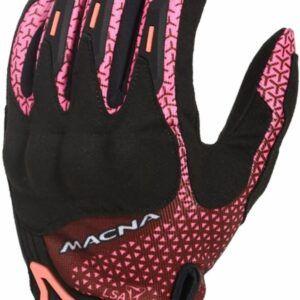 MACNA Rękawice Tekstylne Damskie Octar Black/Pink