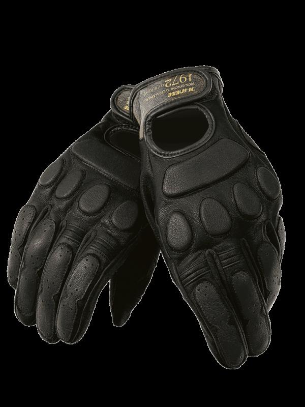 DAINESE Rękawice Skórzane Unisex Blackjack Black
