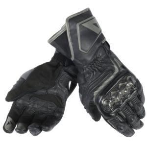 DAINESE Rękawice Skórzane Męskie Długie Carbon D1 Black