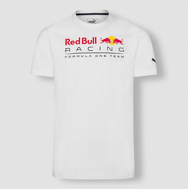 RED BULL Racing Team T-shirt 2020 Koszulka Męska Biała