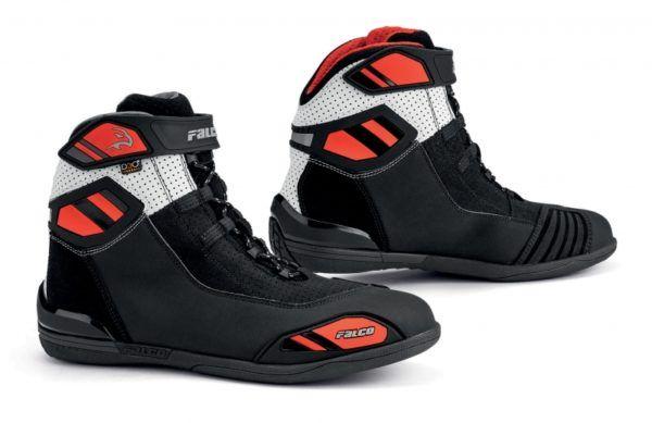 FALCO Buty Motocyklowe Męskie Jackal 2 Air Black/White/Red