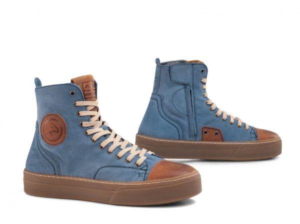FALCO Buty/Trampki Motocyklowe Męskie Lennox Jeans-Blue
