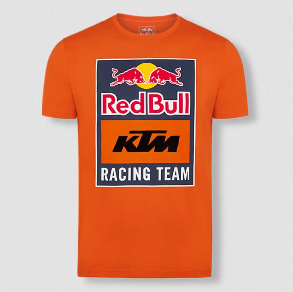 RED BULL T-Shirt Męski KTM Racing Emblem Orange