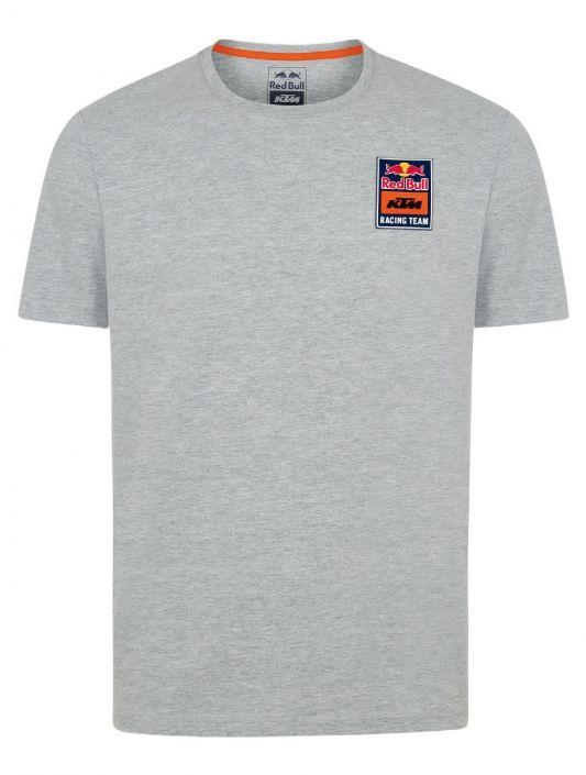 RED BULL T-Shirt Męski KTM Racing Team Patch Grey