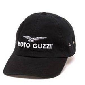 MOTO GUZZI Unisex The Clan Black Czapka z Daszkiem