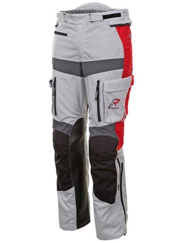 RUKKA Spodnie Męskie Offlane Grey/Black/Red