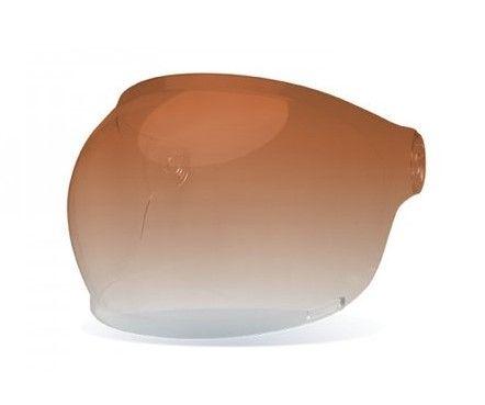 BELL Szyba Custom 500 Snap Retro Amber Gradient