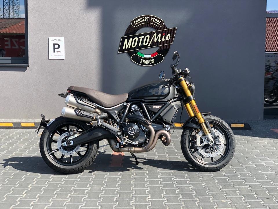 Ducati Scrambler 1100 Sport PRO - OD RĘKI