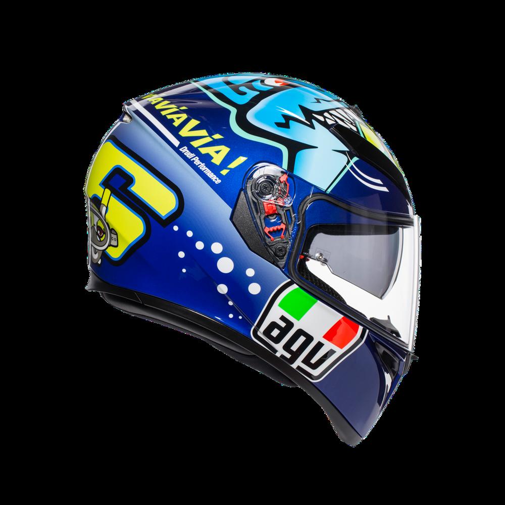 AGV.K-3 SV Top MPLK Rossi Misano 2015 Kask Integralny