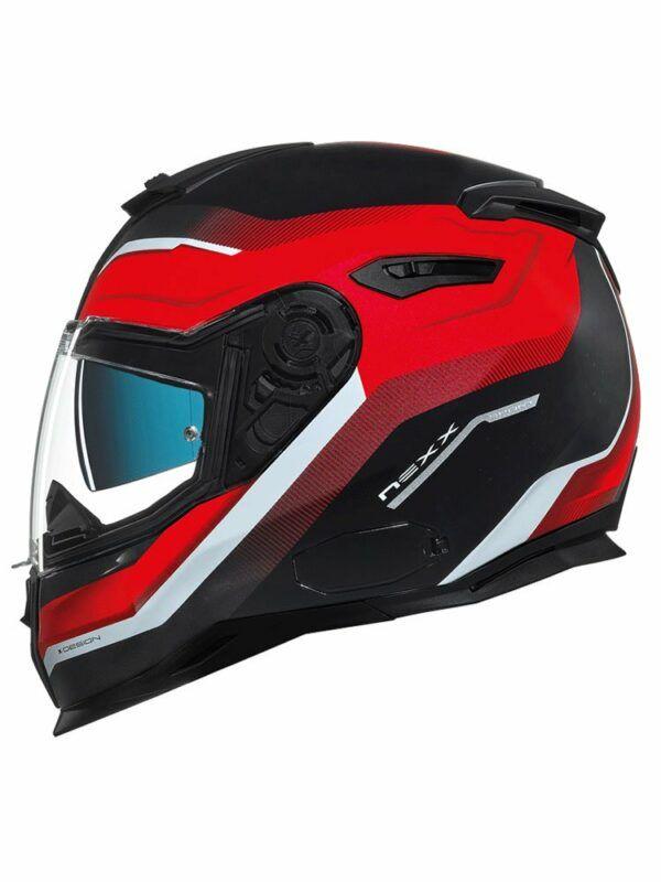 NEXX Kask Integralny SX 100 Mantik Black/Red