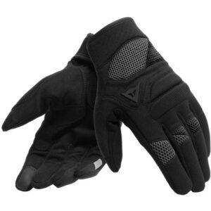 DAINESE Rękawice Tekstylne Unisex Krótkie Fogal Black
