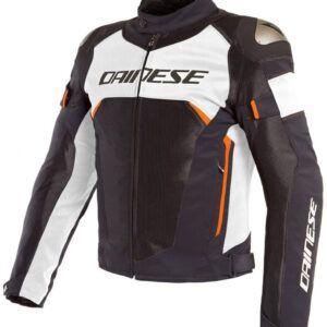 DAINESE Kurtka Tekstylna Męska Dinamica Air D-Dry Black/White/Orange