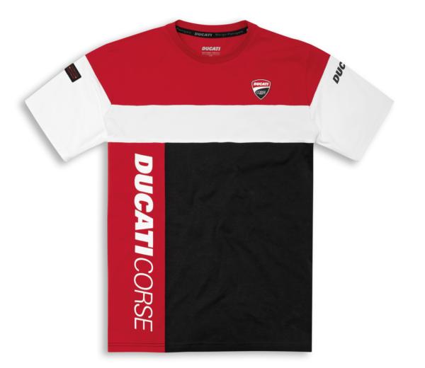 DUCATI T-Shirt Męski DC Track 21 Black