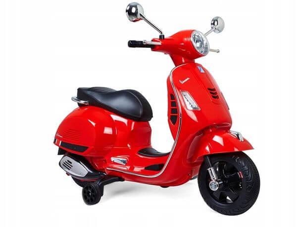 VESPA elektryczny skuter dla dzieci czerwony
