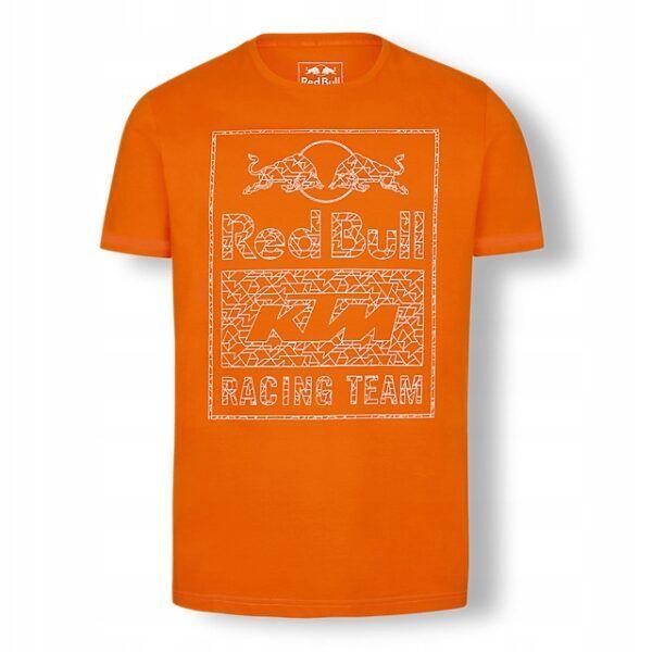 RED BULL T-Shirt Męski KTM Racing Team Mosaic Graphic Orange