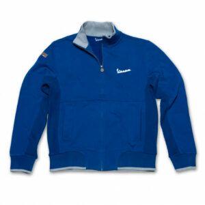VESPA Niebieska Bluza Męska