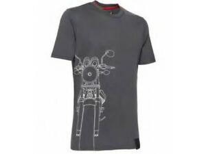 MOTO GUZZI T-Shirt V7 Shape Grey Koszulka Męska