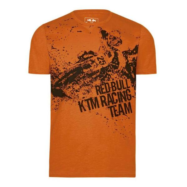 RED BULL KTM Rider T-Shirt Orange Koszulka Męska