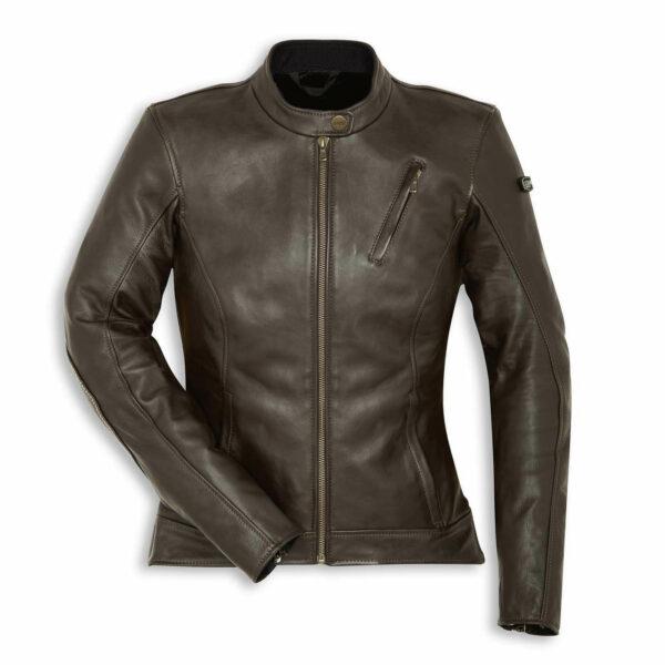 DUCATI Leather Jacket SCR Sebring Lady Kurtka Damska