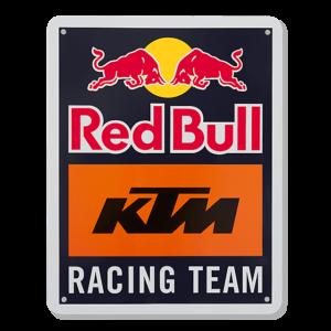RED BULL Metalowa Tabliczka KTM Racing Team