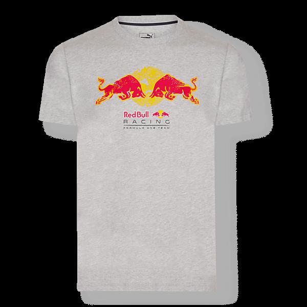 RED BULL T-Shirt Męski Racing Tread Grey