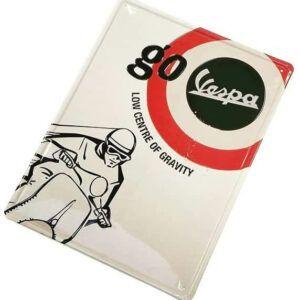 VESPA Emblemat Blaszany Go!