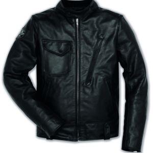 DUCATI Leather Jacket SCR Cafe Racer Kurtka Męska